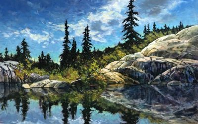 uPaint Art Retreat – Maple Ridge – Loon Lake – March 5 – 7, 2021