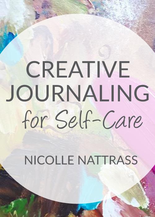 creative journaling promotional banner